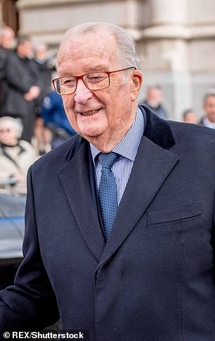 Former King of Belgium Albert II