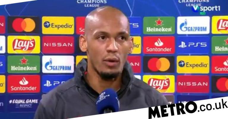 Fabinho speaks out on replacing Virgil van Dijk in Liverpool's defence