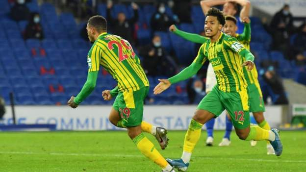 Grant scores first West Brom goal to earn point at Brighton