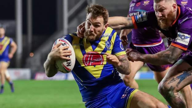 Super League: Warrington Wolves 19-12 Huddersfield Giants