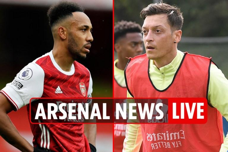 11pm Arsenal news LIVE: Man Utd WIN, Aubameyang scores penalty, Ozil BLASTED as Arteta says 'I tried my best'
