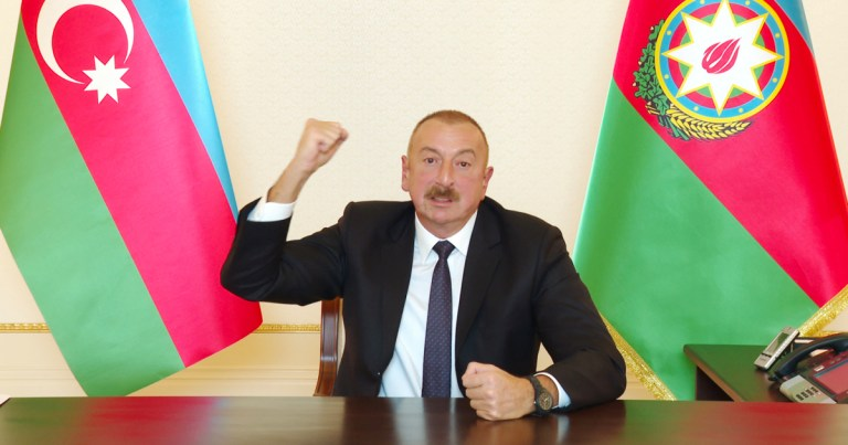 Azerbaijan vows fight 'to the end' as Nagorno-Karabakh war rages