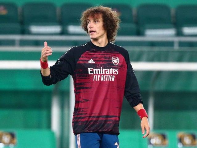 David Luiz ready to return as Mikel Arteta plans further Arsenal rotation in Europa League