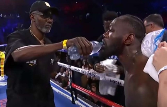 Deontay Wilder claims his drink was spiked before his loss to Tyson Fury