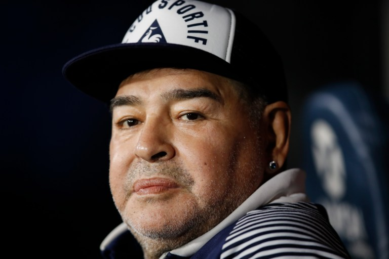 Diego Maradona, 60, rushed to hospital with dehydration as doctors reveal illness is not due to coronavirus