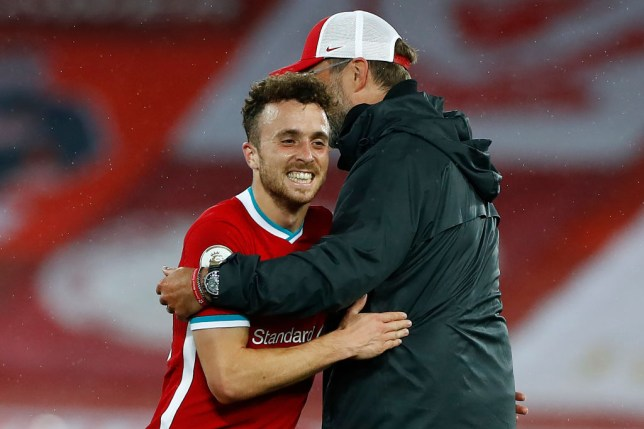 Diogo Jota has been in sublime form since joining Liverpool