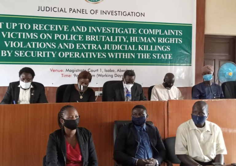 End SARS: Ogun judicial panel begins sitting, says it won't entertain cases in court