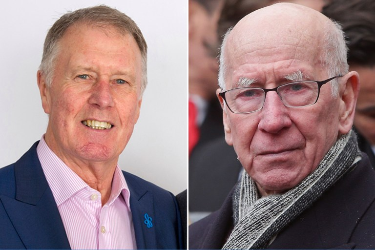 England World Cup hero Sir Geoff Hurst pays tribute to lifelong friend Sir Bobby Charlton after dementia diagnosis