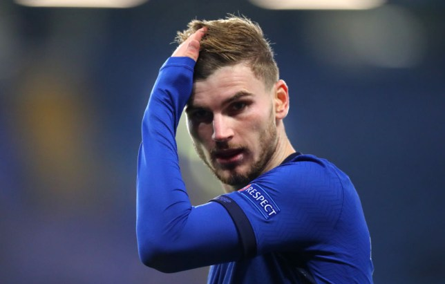 Timo Werner scored two penalties in Chelsea's 3-0 win over Rennes