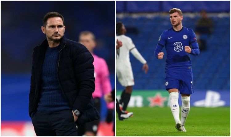 Frank Lampard jokes he's been 'harsh' on Chelsea ace Jorginho after Timo Werner decision