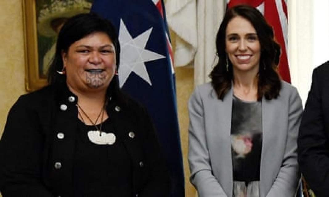Jacinda Ardern and new foreign minister Nanaia Mahuta