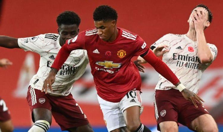 Man Utd player ratings vs Arsenal: Rashford and Fernandes disappointing as Gunners win