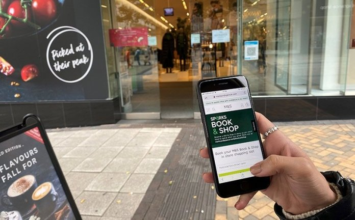 Marks & Spencer completes 'Sparks Book & Shop' rollout ahead of second lockdown