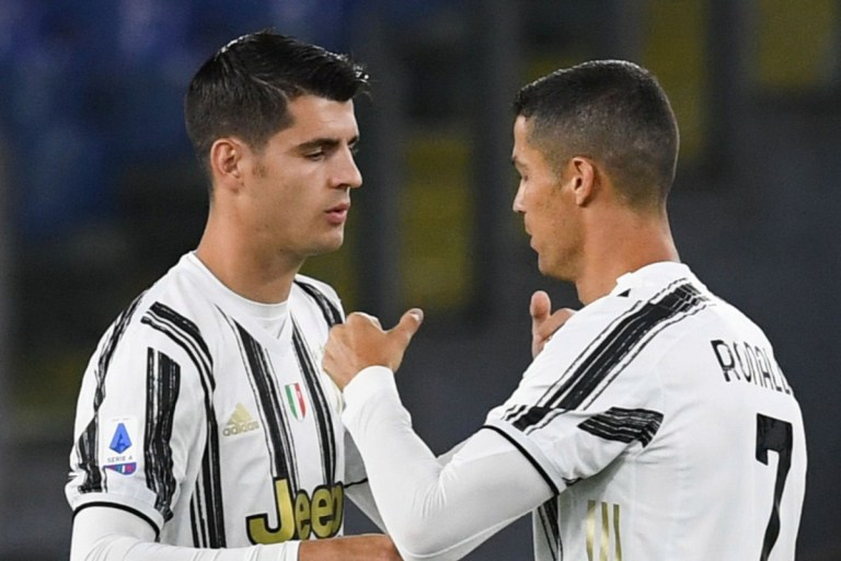 Morata insists Cristiano Ronaldo is 'loved by everyone' after ex-Juventus star says he has 'no respect for team-mates'