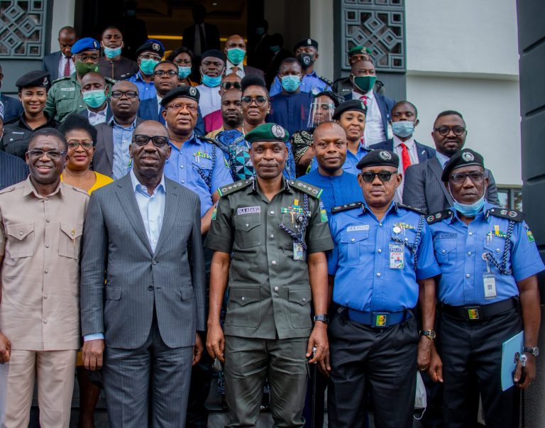 Obaseki, IGP assure of improved security, advocate community-oriented policing to combat crime