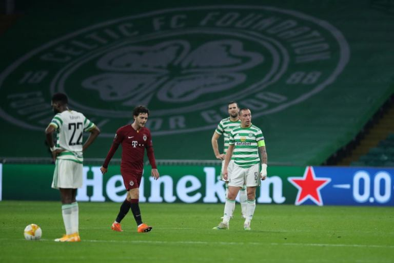 Sorry Celtic fall bottom of Europa League group after being hammered by Sparta Prague