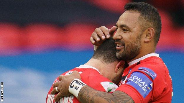 Krisnan Inu kicked all seven of his goals as well as crossing for his hat-trick as Salford beat Catalans