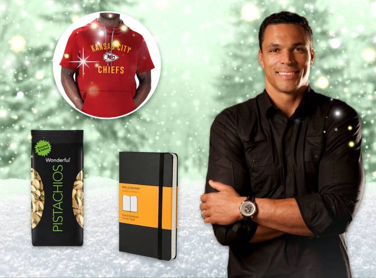Tony Gonzalez's Gift Guide Will Make You the MVP of the Holiday Season
