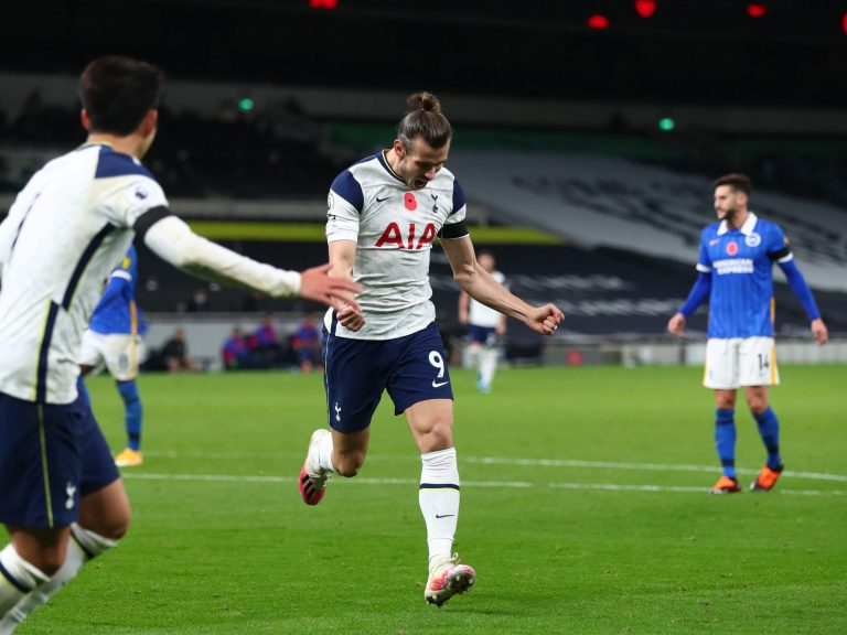 Tottenham vs Brighton result: Substitute Gareth Bale nets winner for Spurs in pure moment from impure game