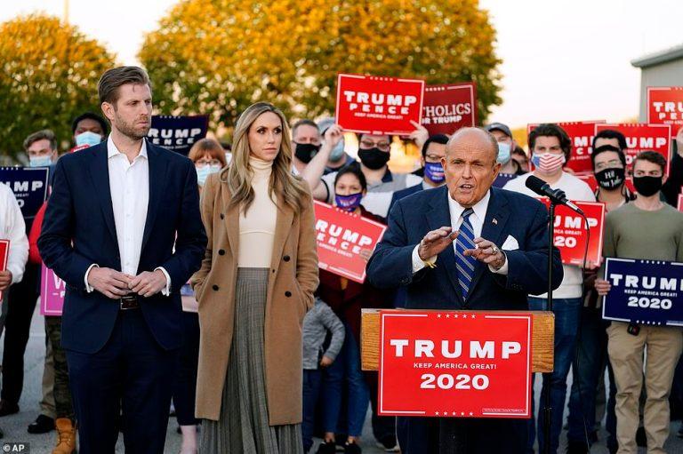 Trump sends Rudy Giuliani to dispute Supreme Court ballot deadline