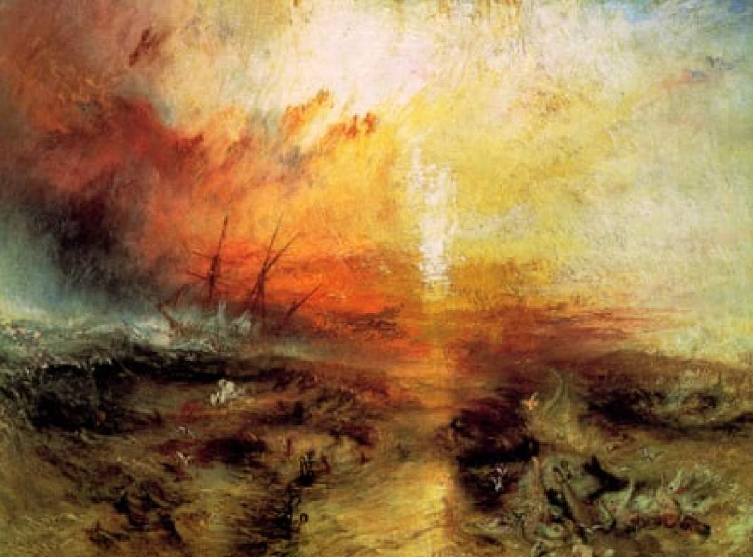 The Slave Ship, 1840 by JMW Turner.