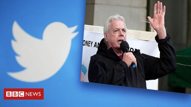 Twitter bans David Icke over Covid misinformation