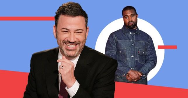 Jimmy Kimmel mocks Kanye West