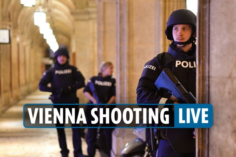 Vienna shooting LIVE updates: Several dead in terror attack near synagogue in Austrian capital