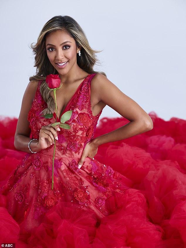 Making her mark: Bachelor Nation first met Tayshia on Colton Underwood's season of The Bachelor