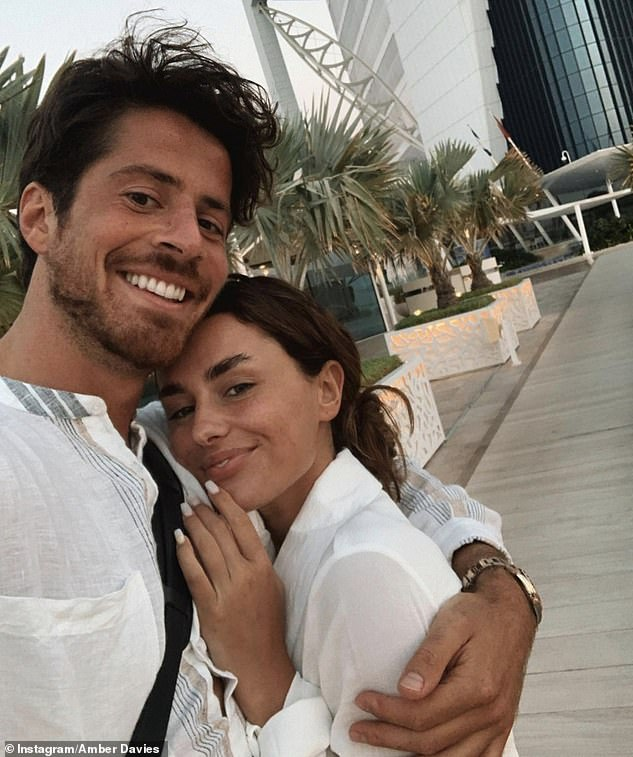 Loved up:Elsewhere in the candid chat, Nick gushed that his first impression of Amber was 'fit', while Amber joked 'you were a lot shorter than I thought you were'