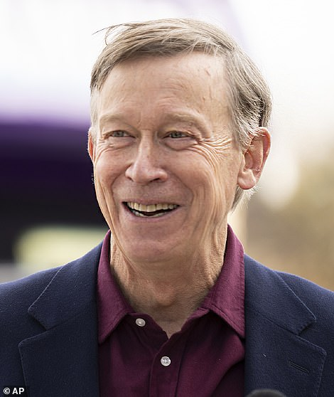 Colorado Senator Cory Gardner became the first major political casualty Tuesday night, after former Democratic governor and Denver mayor John Hickenlooper (pictured) defeated him