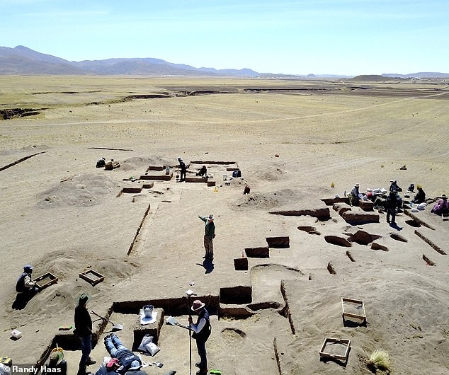 """The find — along with an analysis of early burial practices more broadly — 'overturns the long-held """"man-the-hunter"""" hypothesis', the US researchers said. Pictured, theWilamaya Patjxa site"""
