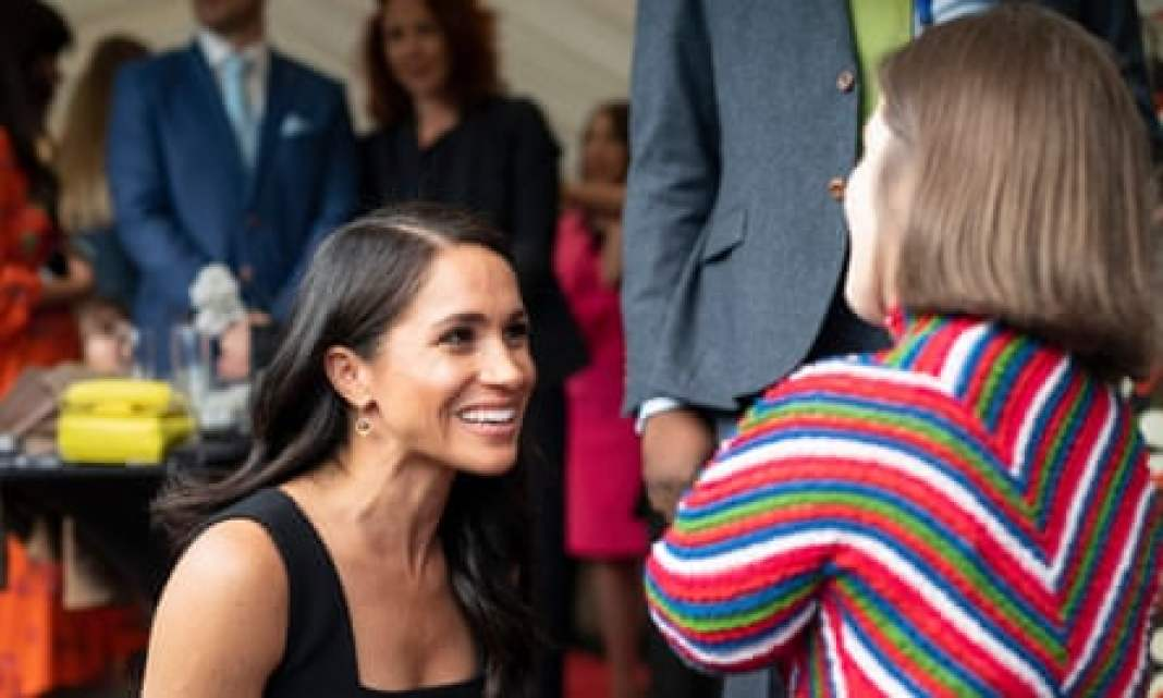 Royal flush: meeting Meghan, Duchess of Sussex
