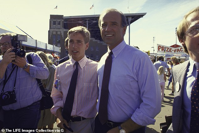 Beau Biden campaigned with his father during his 1988 presidential run, and later entered politics himself, becoming attorney general of Delaware in 2007