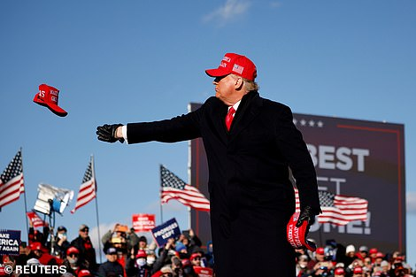 Hats all: No state has occupied each campaign more than Pennsylvania - but when the results of their efforts will be known is unknown