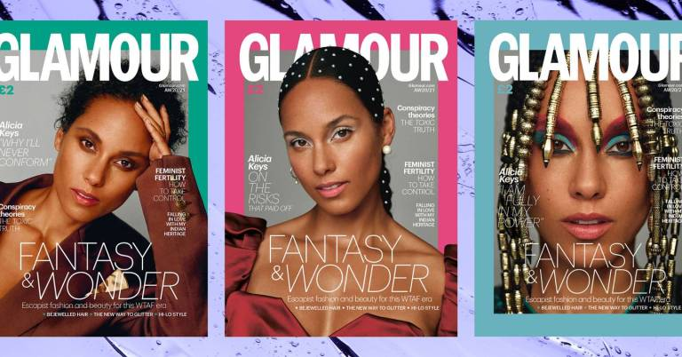 Alicia Keys is the cover star of our Autumn/Winter 2020-21 biannual print issue!