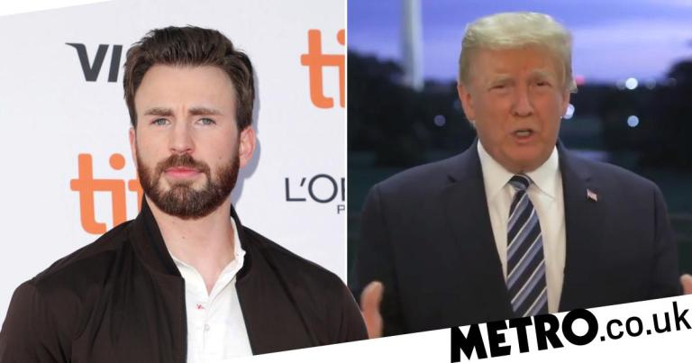 Avengers' Chris Evans issues scathing response to 'come-to-life toilet' Donald Trump's conference