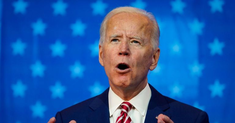 Biden launches transition website vowing to unite US as he edges closer to a win