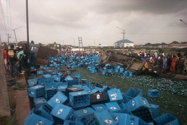 JUST IN: Five feared killed, many injured in Lagos multiple accidents
