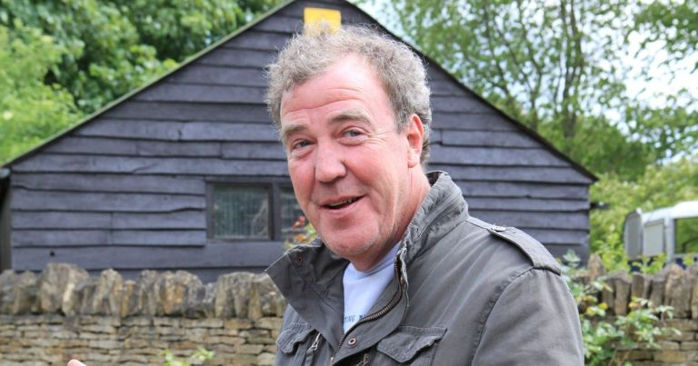 Jeremy Clarkson stung on backside by bees 'that hate him and got inside suit'