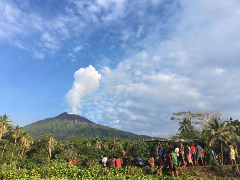 Manam drone data furthers understanding of volcanoes