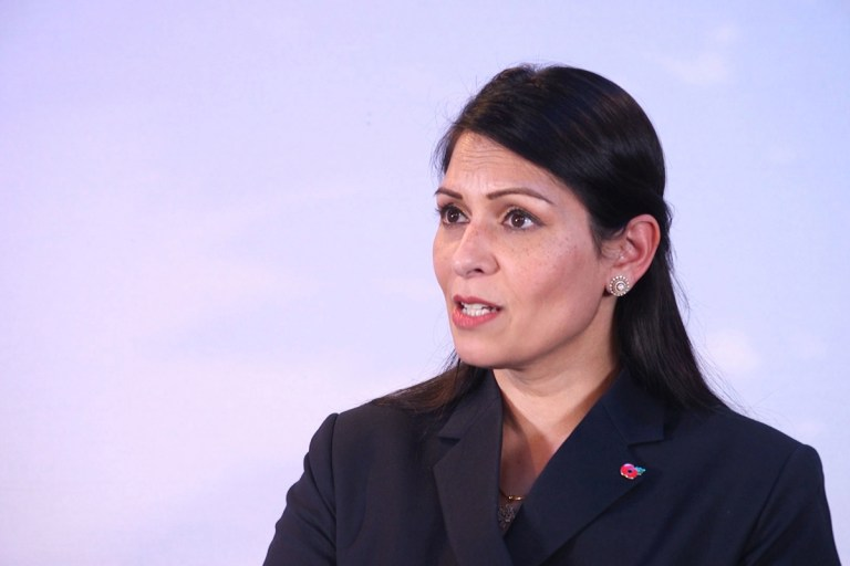 Priti Patel says cops WON'T break up Christmas Day family gatherings after killjoy chiefs threatened to raid homes