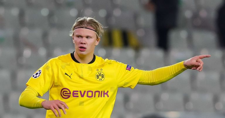 Real Madrid and Borussia Dortmund have Erling Haaland 'pact' in blow to Man Utd