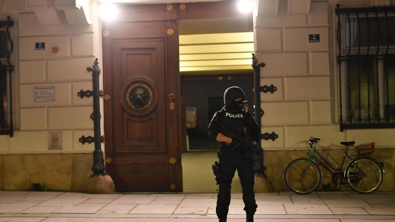 Vienna attacker killed by police sympathised with Islamic State (IS) group, minister says