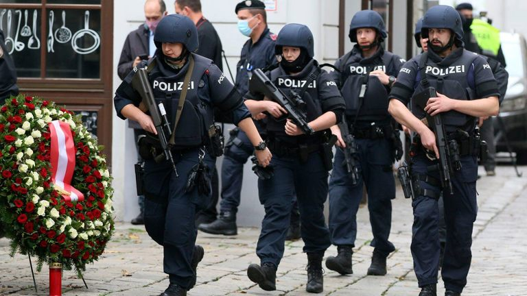 Vienna terror attack suspect sought to join Islamic State, no indication of second assailant, minister says