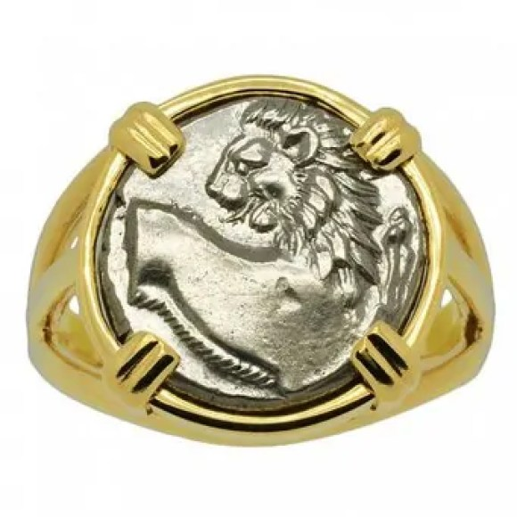 lion rings masculinity