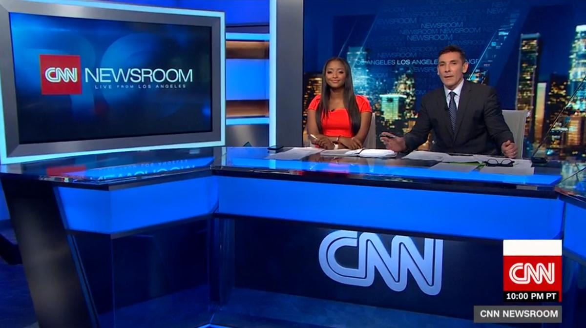 CNN Los Angeles Broadcast Set Design Gallery