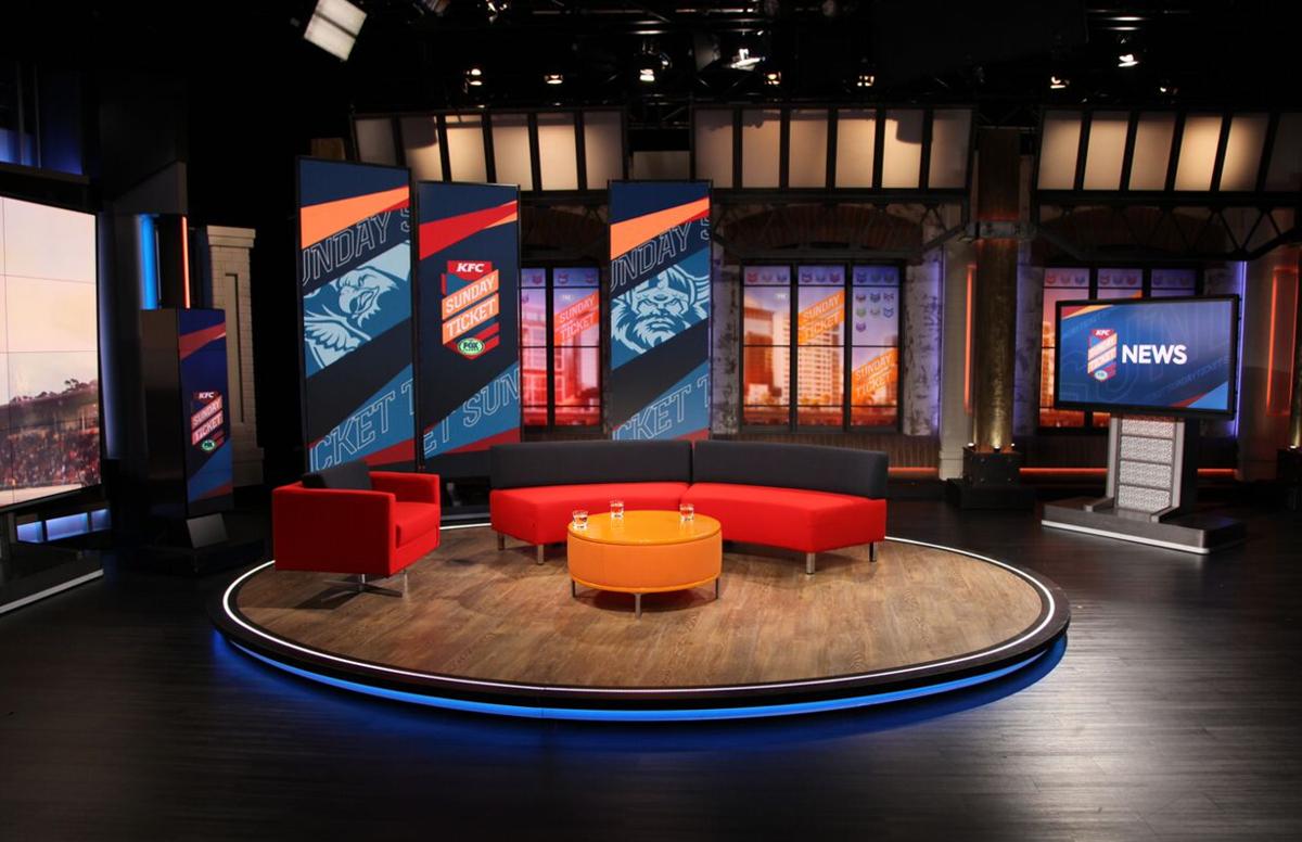 Fox Sports Australia Studio A Broadcast Set Design Gallery
