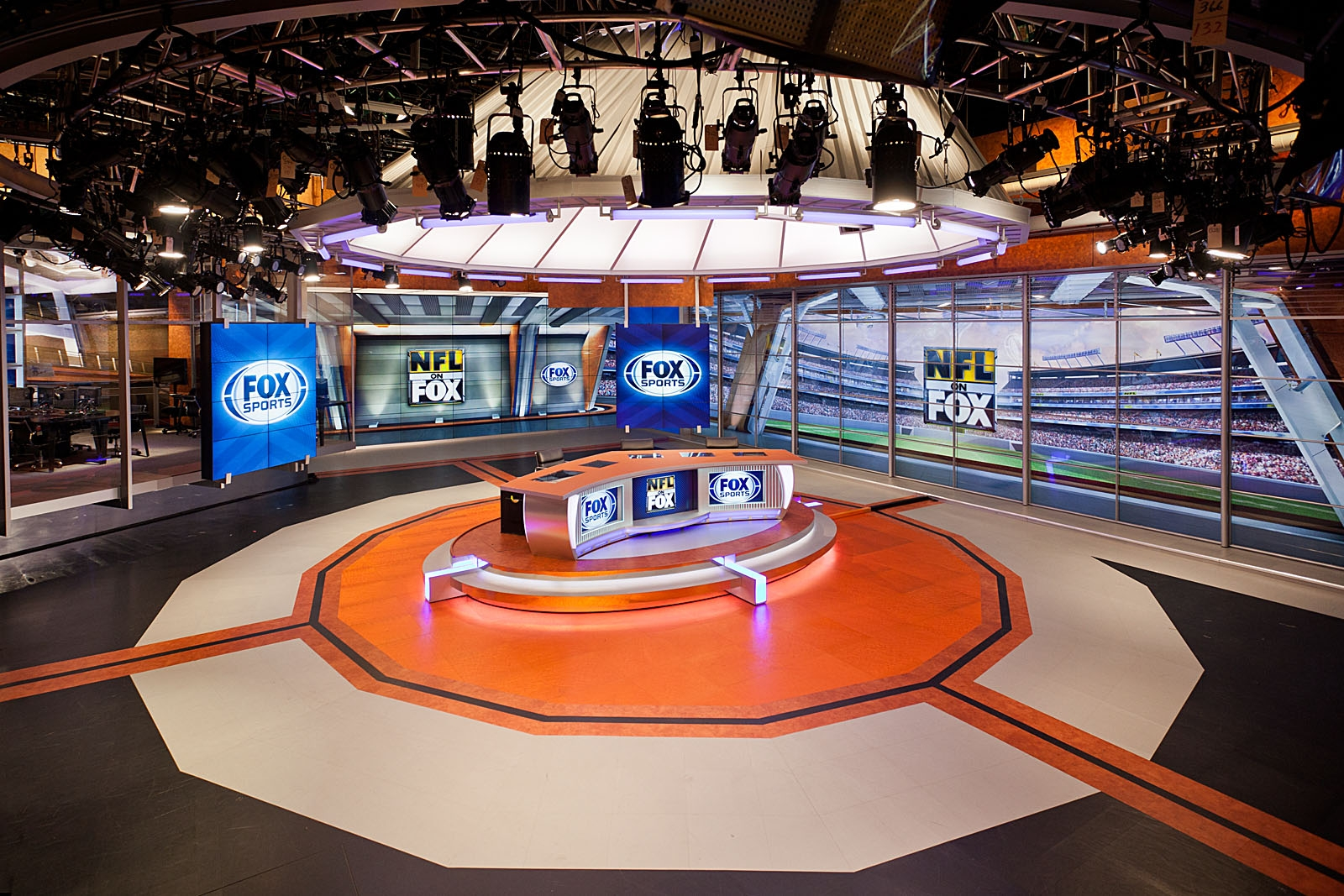 Fox Sports Studio A Broadcast Set Design Gallery