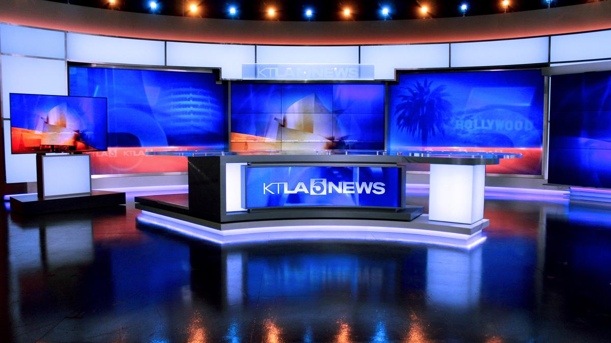 KTLA Broadcast Set Design Gallery